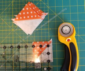 Lay out HSTs to trim