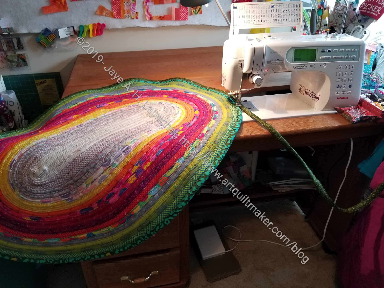 Jelly Roll Rug – Artquiltmaker Blog