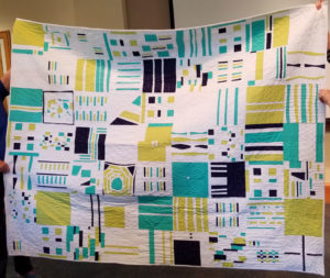 Tri Valley Modern Quilt Guild Charity Quilt