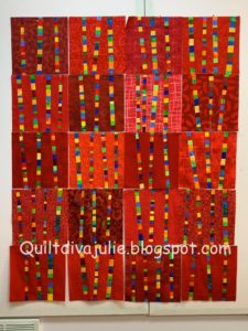 Julie Sefton's Inspi(Red) quilt
