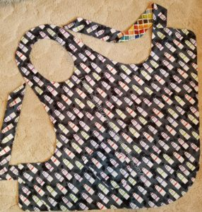Paint Tube Flapper Apron