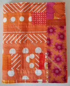 Orange Improv Journal Cover
